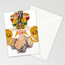 Bloom by Lenka Laskoradova Stationery Cards