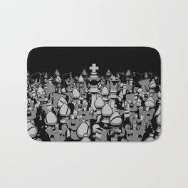 The Chess Crowd Bath Mat