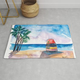 Key West Florida USA Southernmost Point of The USA Rug