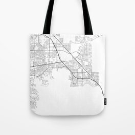 Minimal City Maps - Map Of Henderson, Nevada, United States Tote Bag