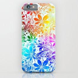 Flying Through Rainbows iPhone Case