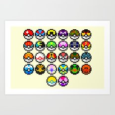 Gotta Catch'Em All Art Print