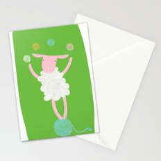 sheep playing Stationery Cards