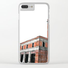 FIRE STATION NO. 3 Clear iPhone Case