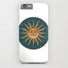 Sun, Moon & Stars iPhone Case