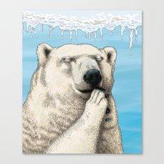 Polar prayer Canvas Print