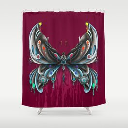 Buterfly Shower Curtain
