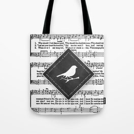 Sparrow Song Tote Bag