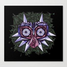 Triangle Majora's Mask Canvas Print