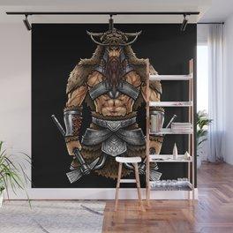 Norseman Berserker | Viking Warrior Valhalla Odin Wall Mural