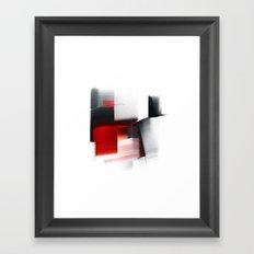 composition with black Framed Art Print