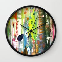 la Wall Clocks featuring la traverse by sylvie demers