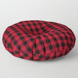 Buffalo Plaid Pattern Floor Pillow