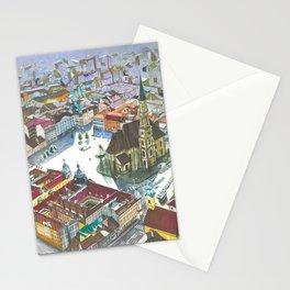 Unirii square Stationery Cards