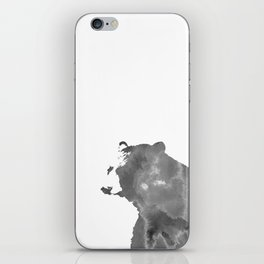 graphic bear II iPhone Skin