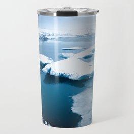 Iceland - Floating Icebergs Travel Mug
