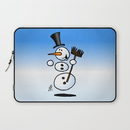 Dancing snowman Laptop Sleeve
