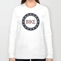 bike Long Sleeve T-shirts featuring Bike by Phil Perkins