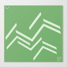 ballo verde Canvas Print