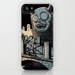Walk out of town iPhone Case