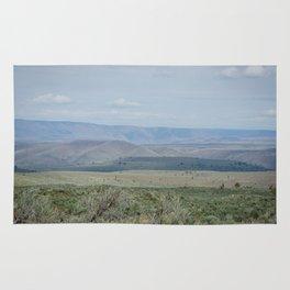 The Velvety Hills of Central Oregon Rug