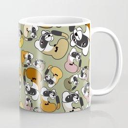Black Footed Ferret pattern Coffee Mug