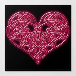 Don't Tug on My Heart Strings Canvas Print