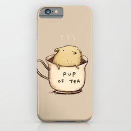 Pup of Tea iPhone Case