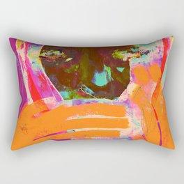 COUVRE TA BOUCHE IL FAIT FROID Rectangular Pillow
