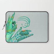 hand-shape aesthetic Laptop Sleeve