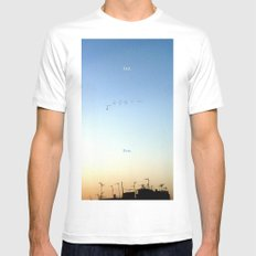 The Flight Mens Fitted Tee SMALL White