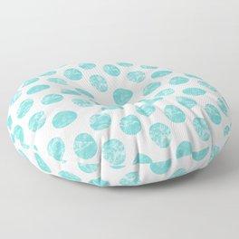 Pallini light turquoise green Floor Pillow