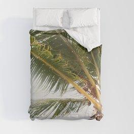 Palm Tree Tropical Vibes #1 #tropical #wall #decor #art #society6 Comforters