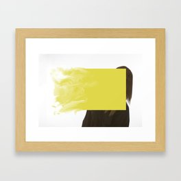 Fluid Dynamic Intrusion No.1 Framed Art Print