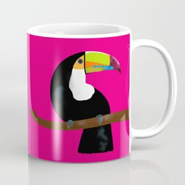 Toucan pink fuchsia Coffee Mug