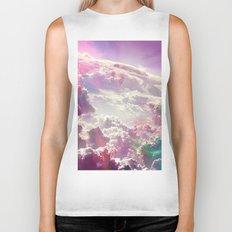 Clouds #galaxy Biker Tank