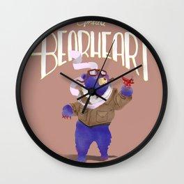 Amelia Bearheart Wall Clock