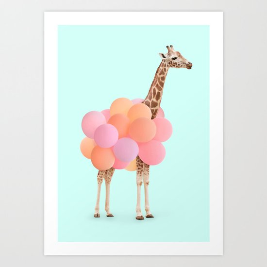 GIRAFFE PARTY by paulfuentes