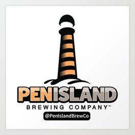 Pen Island Brewing Company Art Print