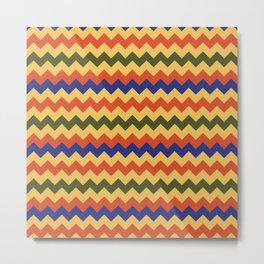 Egypt national textile pattern Metal Print