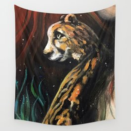 Jaguar Protection Wall Tapestry