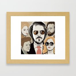American  Hustle Framed Art Print