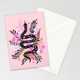 cosmic snake Stationery Cards