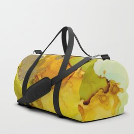 Gold Abstract 2 Duffle Bag