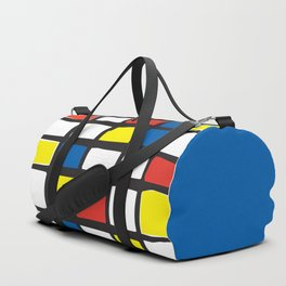 Mondrian Variation 1 Duffle Bag