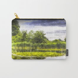 The Lily Pond Art Carry-All Pouch