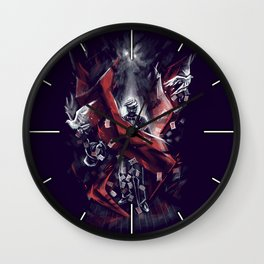 Final Trick Wall Clock