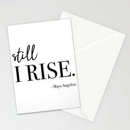 Still I Rise - Maya Angelou Stationery Cards