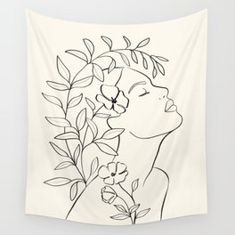 Blooming III Wall Tapestry