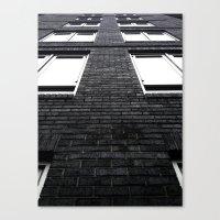vertigo Canvas Prints featuring Vertigo by kirstenariel
